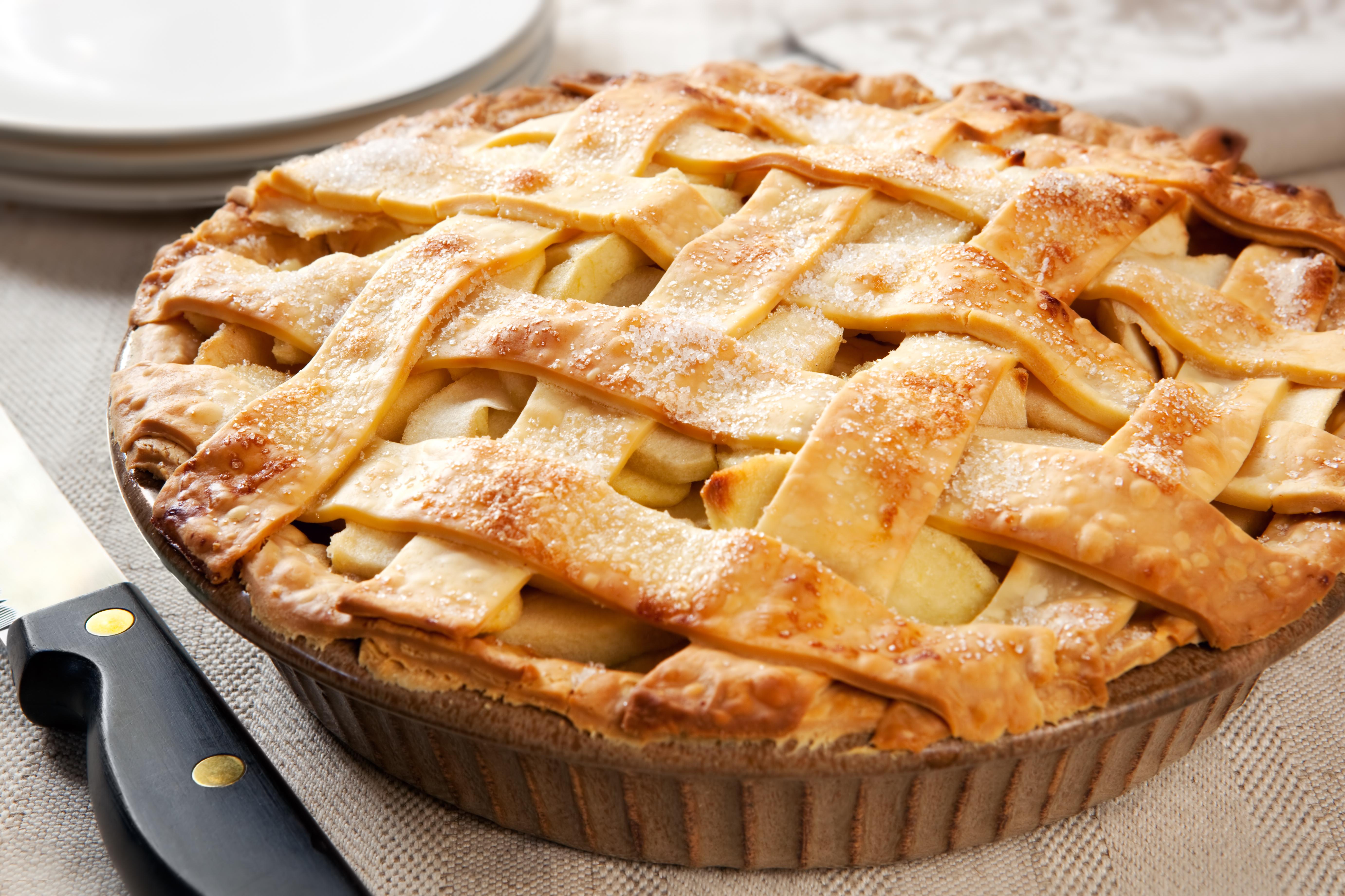 Пирог с яблочным джемом рецепт пошагово