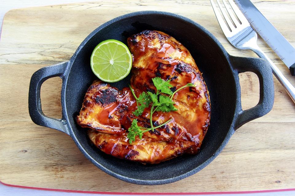 recept na Pečené kuře s nádivkou