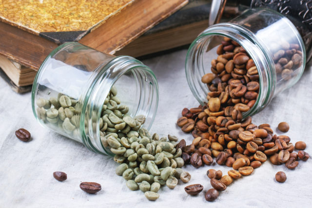 co je to zelená káva