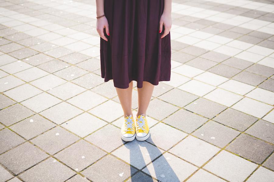 Silnější stehna nebo větší zadek  Vyjděte si ven v té správné sukni ... 71fbf0579df